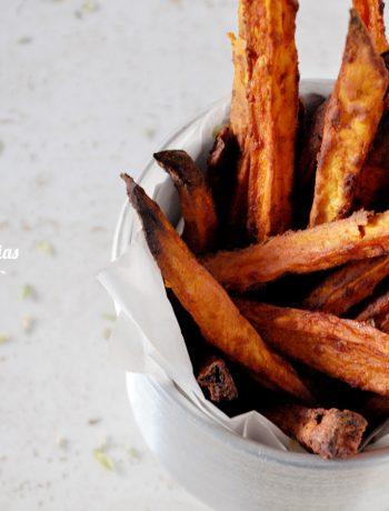 Batatas-doces no forno
