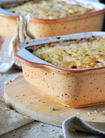 Empadão de Millet com Vegetais Salteados