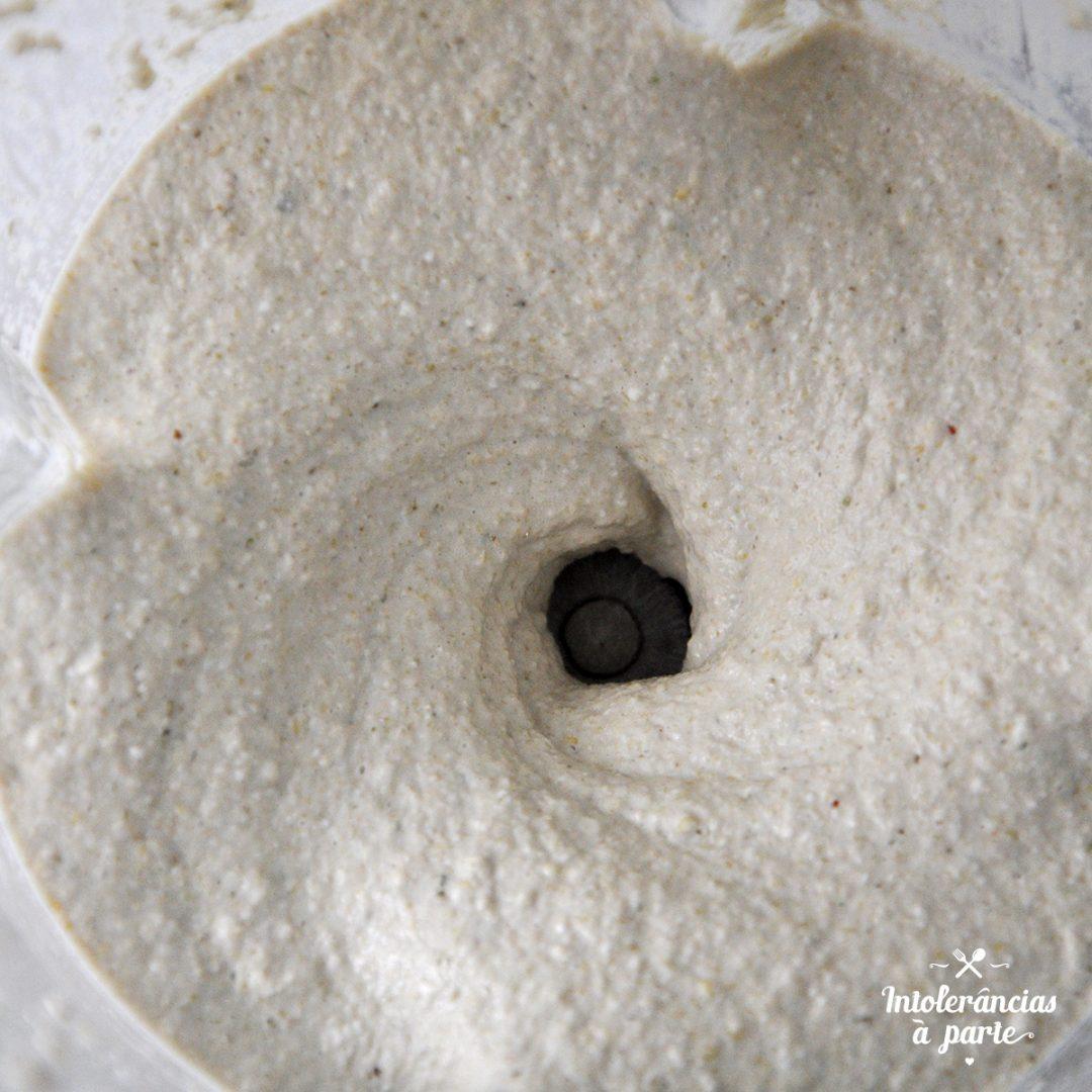 Pizza vegan de Quinoa