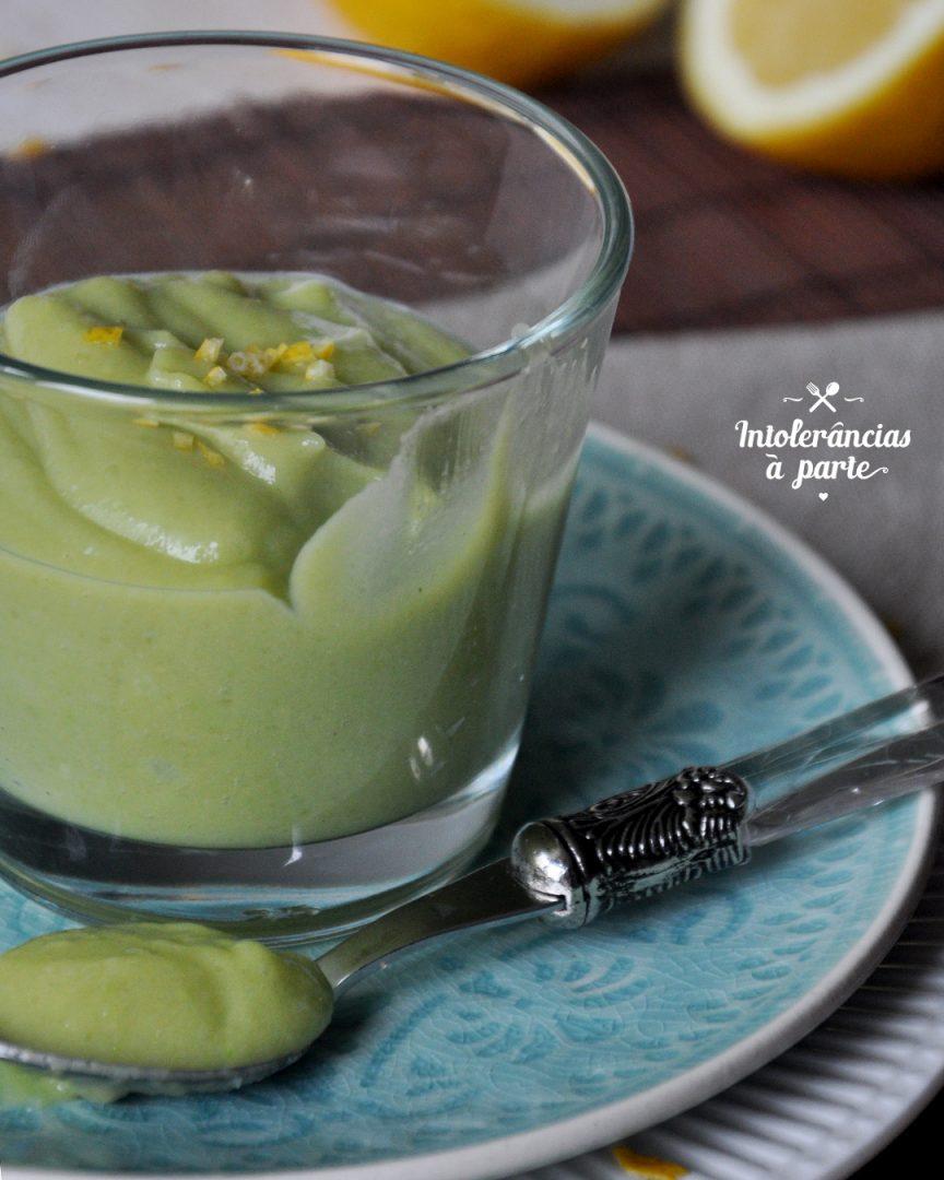 Mousse de Abacate - Vegan